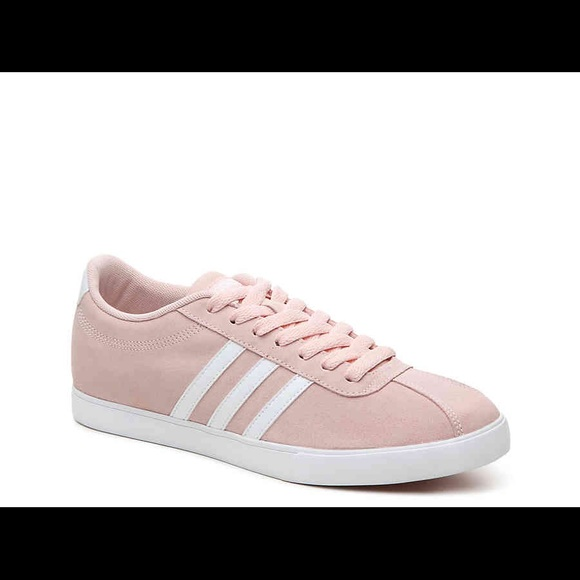new concept fdc4b 55ec1 Adidas Neo courtset blush sneakers ...